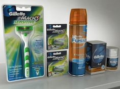 http://www.turbosquid.com/3d-models/set-gillette-3ds/743455