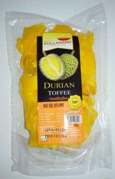 DURIAN FRUIT TOFFEE THAI  PREMIUM SNACK 150 GRAMS / 5.29 Oz FREE SHIPPING