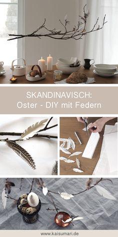 Diese federleichte Osterdeko im skandinavischen Stil kannst du ganz leicht selber machen! Lies im KaisuMari Magazine, wie es geht, und erfahre mehr über die schöne Ostertradition aus Finnland!