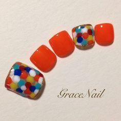 Pretty Toe Nails, Pretty Toes, Cute Nails, My Nails, Toe Nail Designs, Toe Nail Art, Pedicure, Hair, Closet
