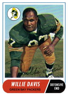New Project - 1967 Football Cards w/1968 Topps Template