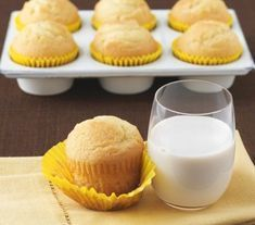 Muffinki cytrynowe - Przepisy - Magda Gessler - Smaki Życia