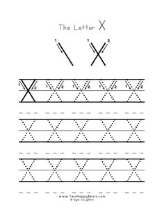 Practice worksheet for writing the letter X, upper case, with several connect the dots examples to trace, in free printable PDF format. Free Printable Alphabet Worksheets, Probability Worksheets, Self Esteem Worksheets, Subject And Predicate Worksheets, Writing Practice Worksheets, 2nd Grade Math Worksheets, Free Kindergarten Worksheets, Printable Letters, Text To Self Connection