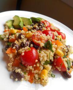 Bust-A-Moby Quinoa Salad Quinoa Salad, Cobb Salad, Salads, Paleo, Low Carb, Friends, Recipes, Food, Meal