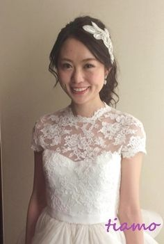 美男美女、素敵なお二人のHappy Wedding Day♡ |大人可愛いブライダルヘアメイク『tiamo』の結婚カタログ
