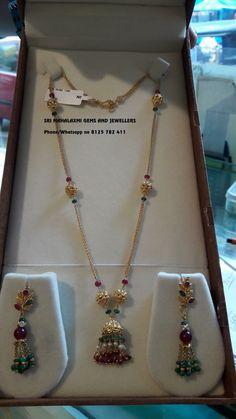 Flower Jewellery Near Me 225 The Jewellery Exchange Ltd. Gold Jhumka Earrings, Gold Earrings Designs, Gold Jewellery Design, Beaded Jewelry, Baby Jewelry, Chain Jewelry, Bridal Jewelry, Jewlery, Gold Jewelry Simple