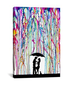 "Marc Allante Two Step Gallery Wrapped Canvas Print, Multi, 60"" x 40"" at MYHABIT"