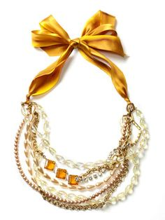 i just want to deck myself out in baubles. Lulu Frost necklace.