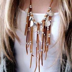 Fantastic Fringe Boho Necklace