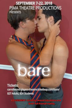 Photography and graphic design for semi-professional theatre company for Bare: A Pop Opera Actor Headshots, Service Awards, Business Headshots, Digital Photography, Theatre, Opera, Student, Graphic Design, Actors