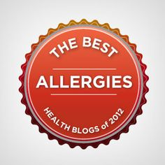 Healthline Names 19 Best Allergy Blogs of 2012! Great listings! #allergies #blog