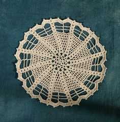 Free doily pattern.  Made it in blue, it looks really nice.  It's a small doily though, approximately 6 inches maybe.