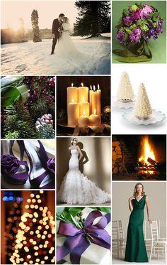 Winter Jewels – December Wedding Inspiration Board : Miss Wedding Blog