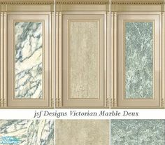 jsf Designs Victorian Marble Deux