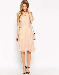 Enlarge Traffic People All I Ever Wanted Midi Dress in Silk