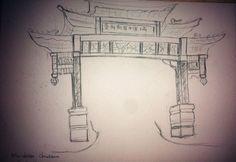 chinatown DRAWING - Google Search
