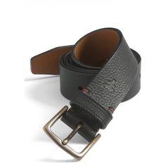 Men's Trask 'Elkhorn' Belt (1 005 SEK) ❤ liked on Polyvore featuring men's fashion, men's accessories, men's belts, black elk, mens genuine leather belts, mens leather belts, mens belts and mens leather accessories