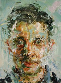 Great portrait's by Paul Wright. L'art Du Portrait, Abstract Portrait, Portraits, Tour Eiffel, Paul Wright, Pin Up, A Level Art, Human Art, Contemporary Artwork