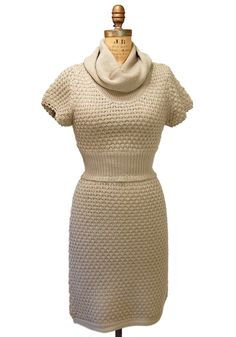 Oatmeal Sweater Dress - Spotted Moth, Chic and sweet clothing and accessories for women