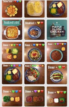Tons of meals for 21 day fix