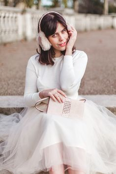 Carrie from Wish Wish Wish wearing an Alexandra Grecco tulle skirt