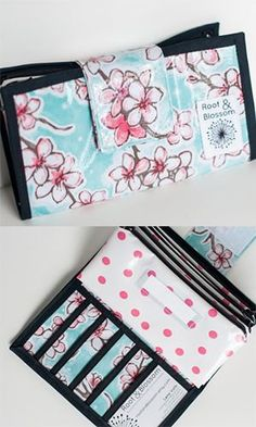 Cute cash wallet system - perfect for Dave Ramsey budgeting, zero-based budgeting and envelope budgeting #daveramsey Budget Envelopes, Cash Envelopes, Dollar Shave Club, Cash Wallet, Cash Envelope System, Dave Ramsey, Make Your Mark, Quilted Bag, Money Matters