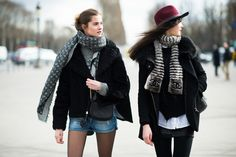 Street Fashion Paris 2014