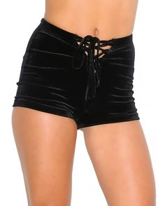 iHeartRaves Velvet High Waisted Rave Shorts * You can find more details by visiting the image link.