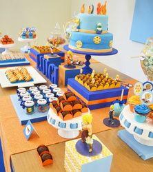 Birthday Party Themes Ball Parties Boy Dragon Z