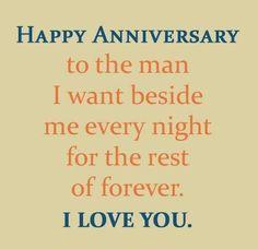 Happy Anniversary...I Love You