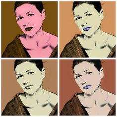 Warhol Kimiko Powers