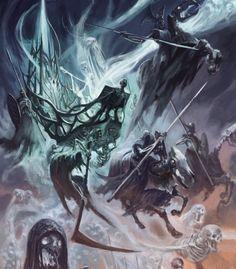 Warhammer Age of Sigmar Artwork   Battletome: Legions of Nagash Artwork Ilustration Wallpaper http://wellofeternitypl.blogspot.com #artwork #art #aos #warhammer #ageofsigmar #sigmar #arts #artworks #gw #gamesworkshop #wellofeternity #wargaming #wallpaper