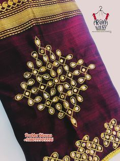 Half Saree Designs, Saree Blouse Neck Designs, Bridal Blouse Designs, Embroidery Neck Designs, Aari Embroidery, Magam Work Designs, Simple Blouse Designs, Sleeve Designs, Pink Eyes