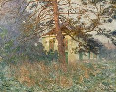 Emile Claus - The Artist's House At Astene, 1906, Museum of Fine Arts, Ghent.