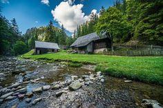 Kvačianska dolina Cabin, Mountains, Landscape, Country, House Styles, Nature, Beautiful, Travelling, Photos