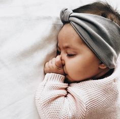March 5th, Our gorgeous Muse of this Monday!!!  In sleepland bliss!!!  Dream away this day and wake up to say it was Wonderful. Evie & Adrienne || Sustainable Baby Clothing and Accessories || Made In America || Be The Good || Fertility Awareness || www.evieandadrienne.com
