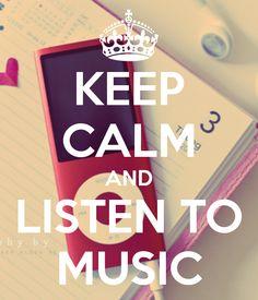 Keep Calm And Love Music Creative Keep Calm Posters Pinterest