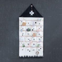 """advent calendar, """"house""""   Galerie CO"""