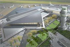 Christchurch Airport Terminal   Development by HASSELL + Warren and Mahoney in New Zealand
