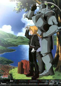 Edward & Alphonse - Fullmetal Alchemist