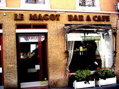 'Le Magot Cafe' Framed Print by Debbie Widmer Framed Prints, Photography, Photograph, Fotografie, Photoshoot, Fotografia