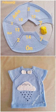 Yandan Düğmeli Bulutlu Bebek Yeleği Yapılışı Knitting For BeginnersKnitting For KidsCrochet BlanketCrochet Stitches Baby Knitting Patterns, Knitting For Kids, Knitting Stitches, Crochet Patterns, Easy Knitting, Knit Vest, Baby Cardigan, Crochet Baby Clothes, Baby Sweaters
