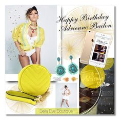 """Happy Birthday Adrienne!"" by bellaeve ❤ liked on Polyvore featuring Tisch New York"