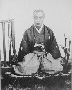 Tokugawa Yoshinobu, the last Shogun of Japan Japanese History, Japanese Culture, Japanese Art, Samurai Weapons, Samurai Warrior, Boshin War, Edo Era, Edo Period, Warriors