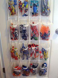 Oh, how I need to do this, esp. for Brogan, aka Boy Who Loved Tiny, Tiny Toys --> Boys Room 005