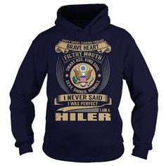 Cool HILER Last Name, Surname Tshirt T shirts