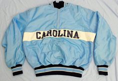 UNC University of North Carolina Jacket Kids Youth Boys Sz L Pullover USA MADE #Delong #Pullover #Everyday