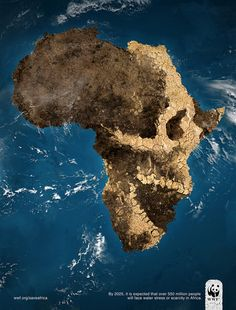 Save Africa poster (detail) by Alex Griendling