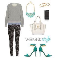 Weekend Style - Leopard Pants