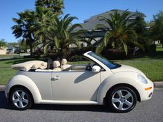 2006 Volkswagen Beetle-New Convertible Beetles Volkswagen, Volkswagen Bus, Vw Camper, My Dream Car, Dream Cars, Volkswagen Convertible, Vw Cabrio, Bug Car, Beetle Car